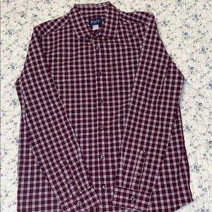 Children's place boys maroon/white shirt size XXL
